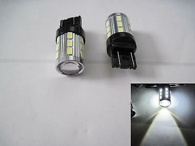 2x 7443 SRCK / CK 15W Samsung 5630 LED + CREE High Power LED White Projector Len