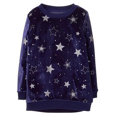 NWT Gymboree Cosmic Club Pretzel Tunic shirt Top Girls S,M,L Navy Blue