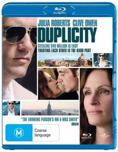 1 of 1 - Duplicity (Blu-ray, 2009)