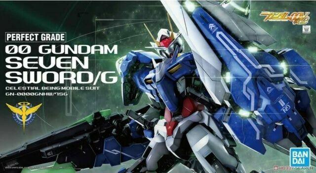 Bandai Gundam 00 Seven Sword Sword G 1 60 Pg Grade Model Kit Bas5055582 For Sale Online Ebay
