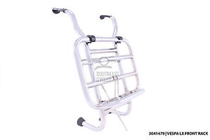 Stainless-steel-folding-front-rack-carrier-vespa-LX50-LX125-LX150-LXV