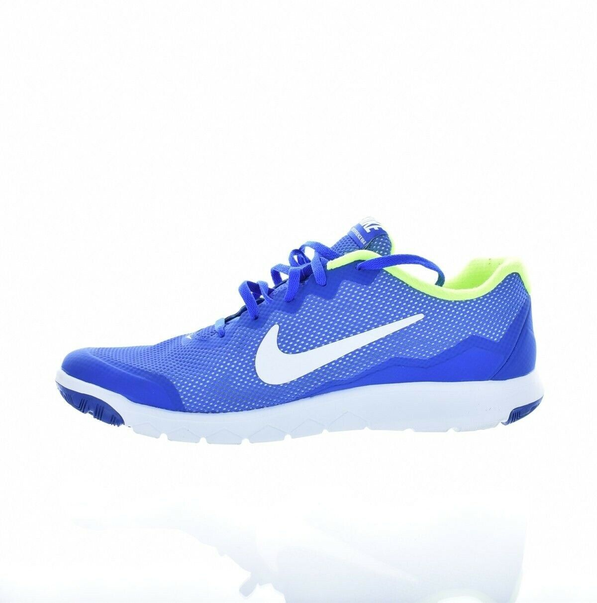 Nike Mens bluee White Volt Flex Experience Rn 4 Running shoes 10.5 Medium