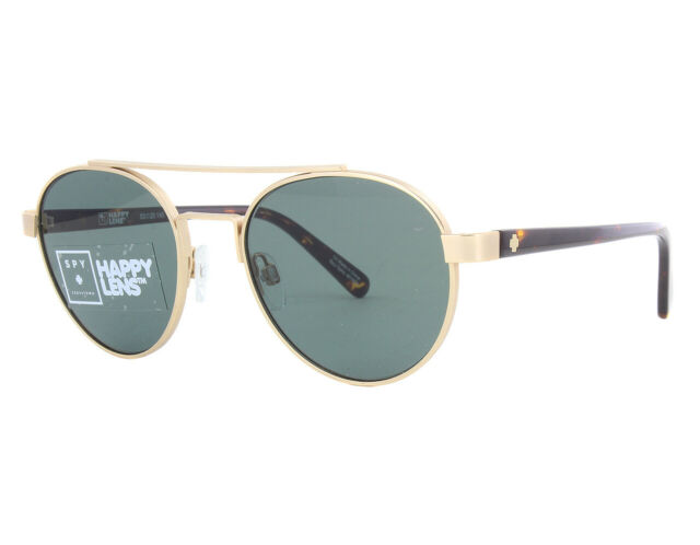 fa3f2fc21b New Spy DECO-673308587863 Gold Tortoise   Happy Grey Green Sunglasses