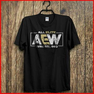 All-Elite-Wrestling-Aew-T-Shirt-Black-Kenny-Omega-Young-Bucks-S-6XL-Tee-For-Fan