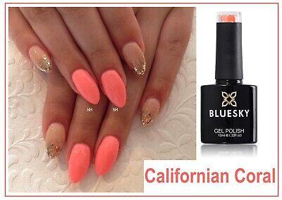 Bluesky Gel California Coral Neon Summer Most Wanted UVLED Gel Manicure  Freepost | eBay