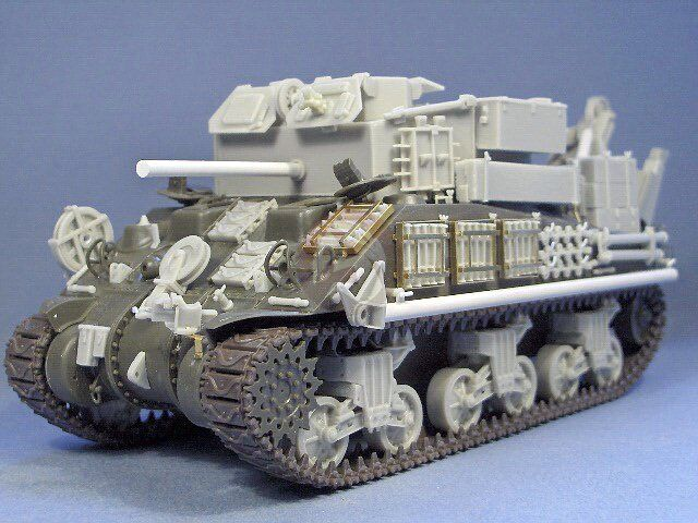 Resicast 1 35 Sherman ARV Mk.II Recovery Vehicle Conversion (Tasca M4A4) 351214