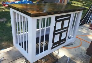 Custom-wooden-kennel-dog-crates-any-color-or-size-Local-pickup-only-for-now