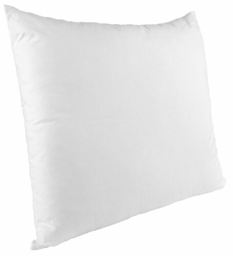 """24/"""" x 24/"""" Inch Square Cushion Inner Pads OVER FILLED Set Of 4 Non Allergenic"""