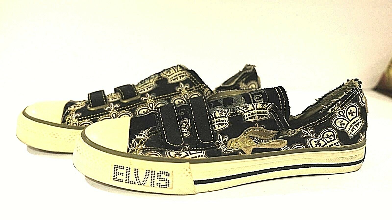 ELVIS COLLECTORS EDITION SHOES SKATER STYLE VELCR… - image 4