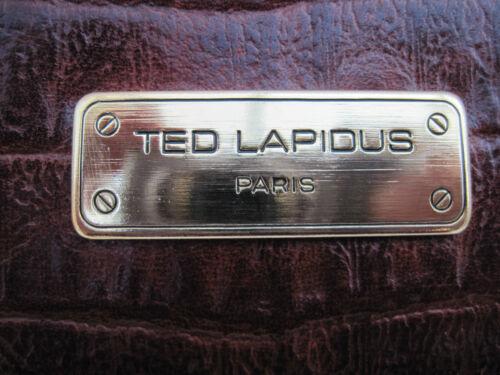 Vintage À Cuir Lapidus Main Paris Tbeg Sac Ted Authentique Bag qC4fxZZa