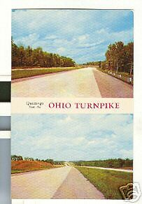 Details about Old Postcard Greetings from the Ohio Turnpike