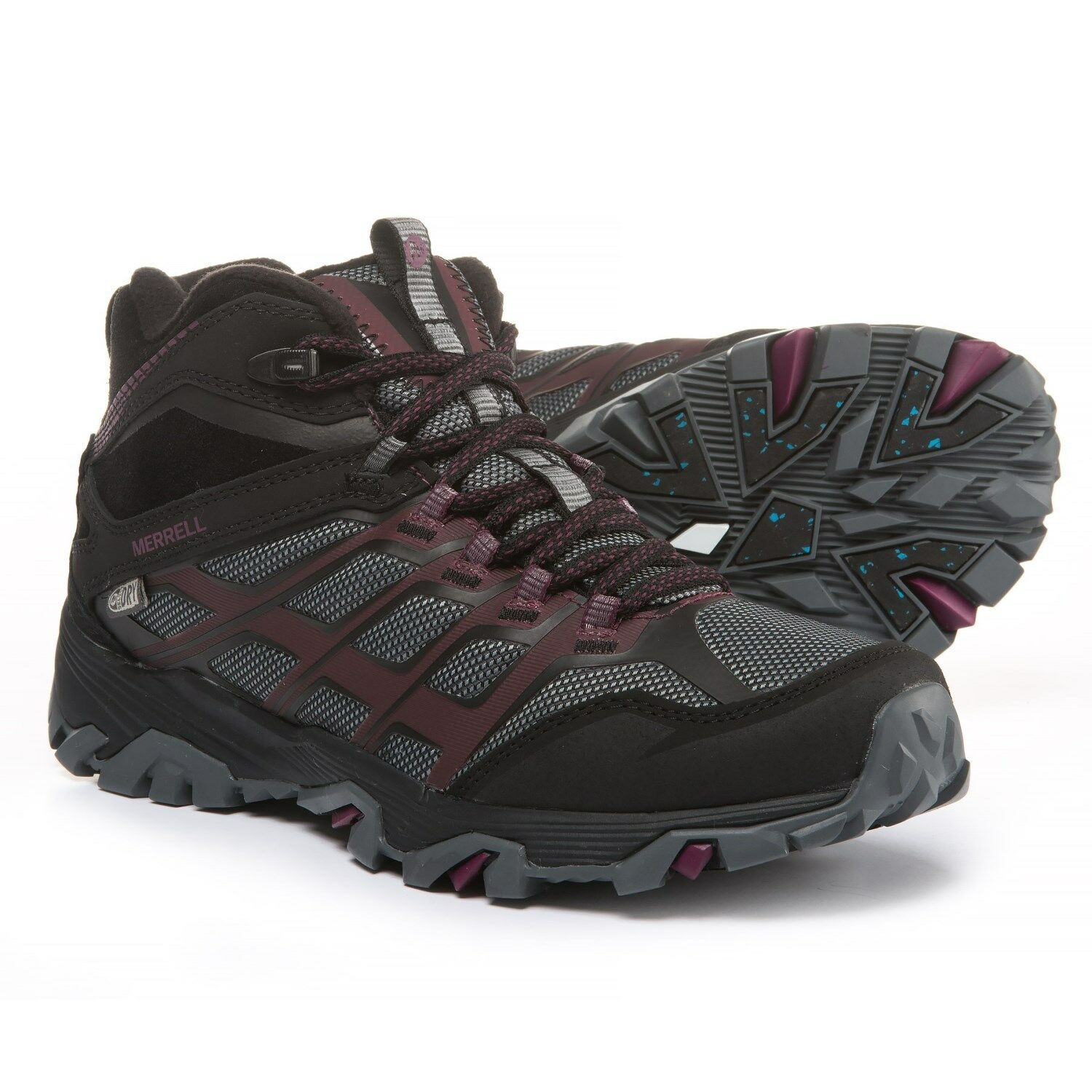 Women's Merrell Moab FST Thermo Waterproof Boots J09598 Ice+