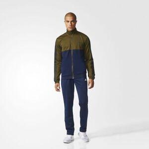 Hommes Vesteamp; 3 Adidas Détails Stripes Survêtement Marine Neuf Bq8359 Olive Pantalon Sur ChrdsxBQt