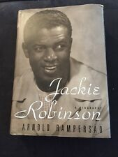 SIGNED 1st Edition Jackie Robinson A Biography by Arnold Rampersad Hologram COA