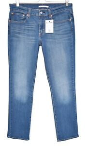 L30 media Jeans elasticizzata L30 414 12 a Levis vita Ladies Stretched Blue taglia wPS1qPp