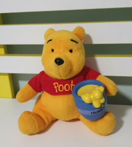 WINNIE-THE-POOH-MCDONALDS-PLUSH-TOY-WITH-PLASTIC-HONEY-POT-DISNEY-CHARACTER-TOY