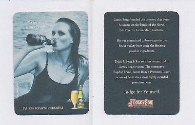 1 Au Launceston 21369 James Boag's Brewing Bierdeckel Beercoasters