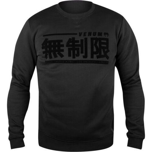 Black//Black Venum Limitless Pullover Sweatshirt