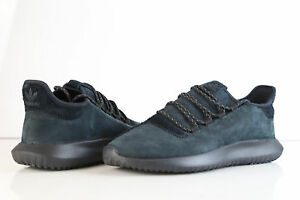 Details about Adidas Tubular Shadown Black Leather Suede BB8942 10.5 nmd 1 originals boost