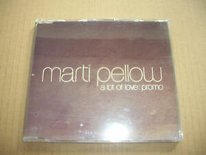 MARTI PELLOW  A LOT OF LOVE  PROMO CD SINGLE  WET WET WET  NEW  UNPLAYED - Margate, United Kingdom - MARTI PELLOW  A LOT OF LOVE  PROMO CD SINGLE  WET WET WET  NEW  UNPLAYED - Margate, United Kingdom