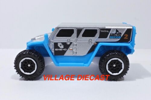 """2018 Matchbox /""""Ice Voyagers/"""" Ghe-O Rescue SILVER//BLUE//ARCTIC RECON//MINT"""