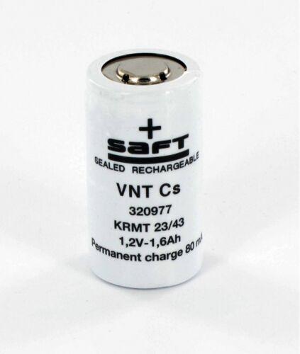 Accu Saft 1.2V 1.6Ah VNTCs NiCd KRMT 23//43