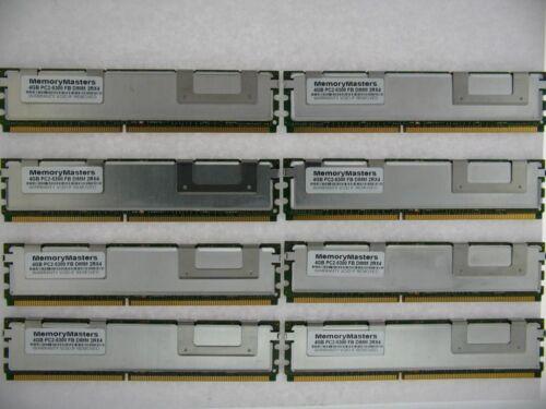 32GB 4GBx8 PC2-5300F 667MHZ CL5 2Rx4 ECC FB-DIMM For Servers Mac Pro TESTED