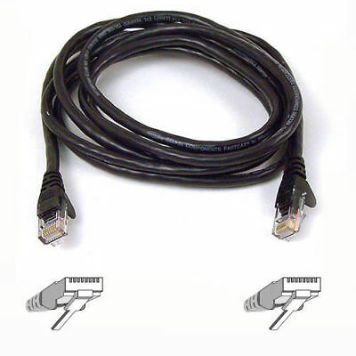 Belkin RJ45 FastCAT™ 5e Patch Cable, 1M (3 feet), Black