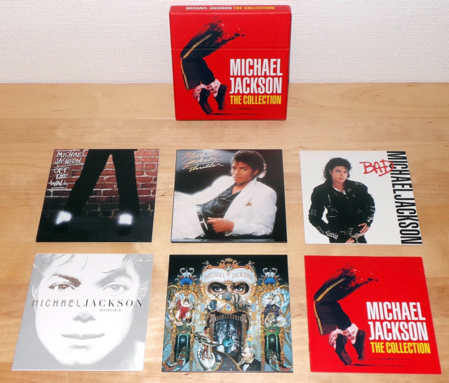 Michael Jackson: The Collection, pop, CD box med MICHAEL…