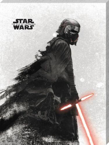30x40cm Impresión De Lona De La Guerra De Las Galaxias Rise of Skywalker Kylo Ren y Vader