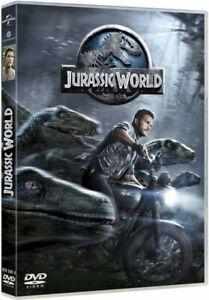 Jurassic-World-Chris-Pratt-Bryce-Dallas-Howard-DVD-Nuevo-en-Blister