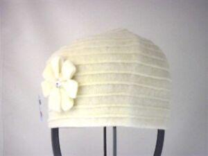 Panna Cappello Cuffia Fiore Cuffia Con Cappello Fiore Con 6tBnqwgxI0