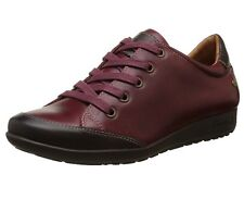 Pikolinos Women's Lisboa W67 I16 Leather Trainers Red Size: 7 UK 41 EU