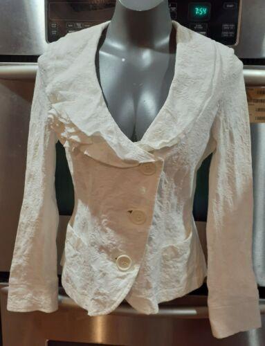 Gare De Robe Women~Size 38 (Sweden) Jacket Ruffles