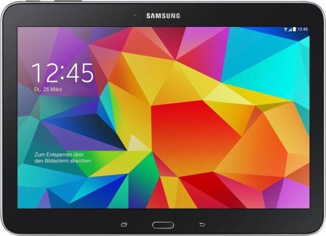 Samsung Galaxy Tab 4 schwarz 16GB WIFI LTE Android Tablet PC 10,1 Zoll Display