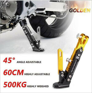Universal-CNC-Motorcycle-Scooter-Kickstand-Side-Stand-Side-Stand-Adjustable
