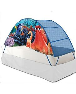 Image is loading Licensed-Kid-039-s-Play-Tent-Twin-Bed-  sc 1 st  eBay & Licensed Kidu0027s Play Tent Twin Bed Tent Finding Dory Play Hut ...