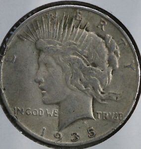 1935 S Peace Dollar XF $1 Extremely Fine