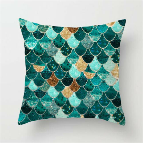 Home Bed Sofa Decors Geometric Throw Pillow Case Cushion Cover Soft Car Waist