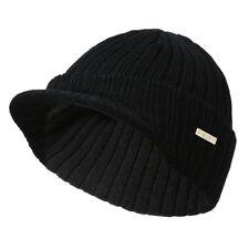 0aed91aff16 item 4 Men Women Winter Ski Hat Knit Warm Visor Beanie Billed Beanie with  Brim Wool Cap -Men Women Winter Ski Hat Knit Warm Visor Beanie Billed  Beanie with ...