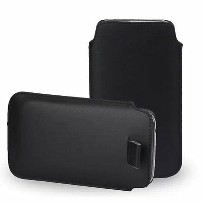 PU Leather PULL Cord TAB Pouch Bag skin Cover Case For Nokia