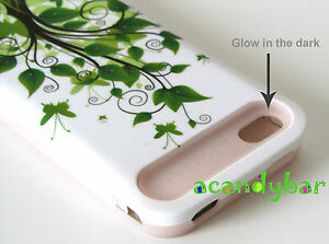 iPhone-4-4S-Pink-Skin-Glow-in-the-dark-Hybrid-Green-Tree-Butterfly-Cover-Case