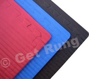 Details about red judo karate jiu-jitsu muay thai martial arts mma bjj  interlocking mats