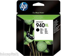 HP-NO-940xl-Negro-Original-Oem-Cartucho-de-Tinta-C4906AE-Officejet