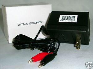 6-amp-12VOLT-GAME-DEER-FEEDER-CAMERA-500MA-SMALL-BATTERY-CHARGER-CHARGE-6V-or-12V