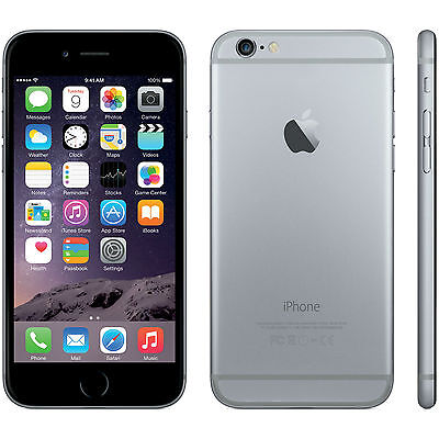 APPLE IPHONE 6 32 GB SPACE GRAY NERO NUOVO ITALIA MAI ATTIVATO ORIGINALE