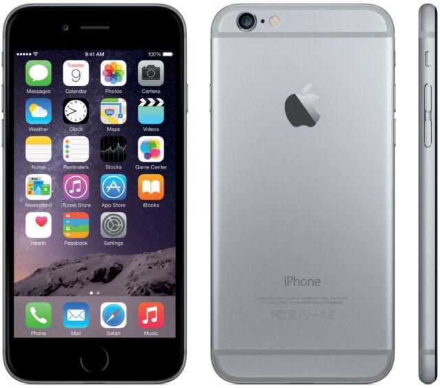 APPLE IPHONE 6 32GB SPACE GRAY NERO ORIGINALE GAR 24 MESI NUOVO SIGILLATO 32 GB