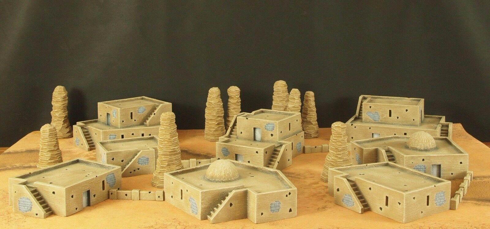 Desert città Terrain  Set (pictures in description)  alla moda
