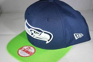 186a29dbe74 Image is loading New-Era-NFL-Sideline-9Fifty-Seattle-Seahawks-Snapback-
