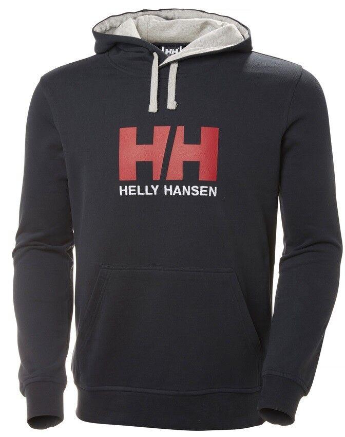 Helly Hansen HH Logo Men's Hoodie 33977 597 Navy NEW